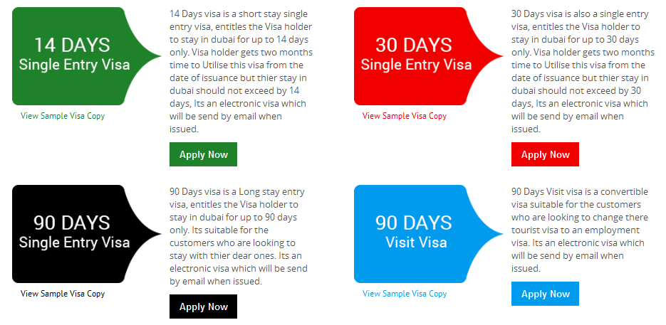 See a dubai tourist visa sample with all information about the see a dubai tourist visa sample with all information about the visa validity visa duration and passport validity requirement for application altavistaventures Gallery