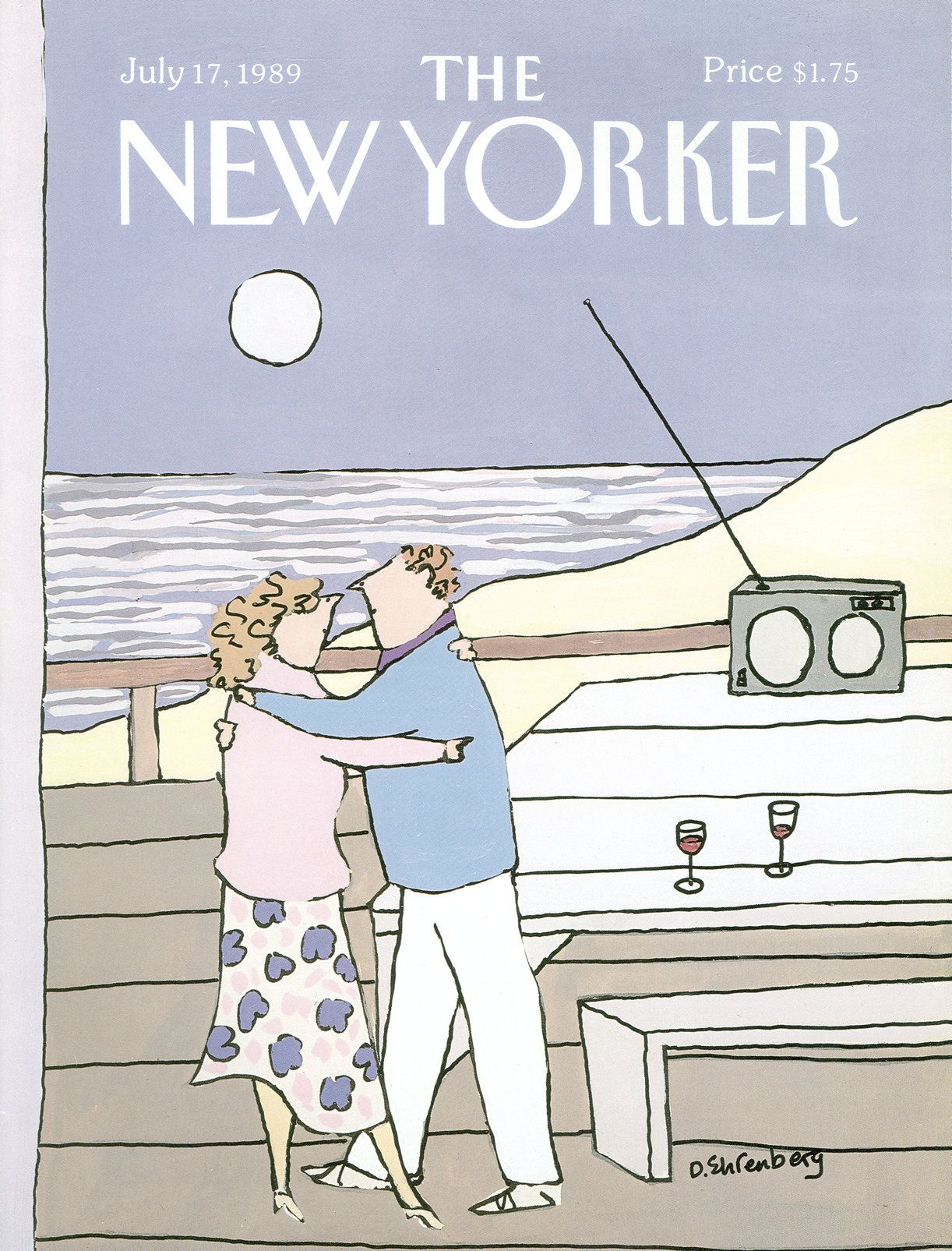 The New Yorker - Monday, July 17, 1989 - Issue # 3361 - Vol. 65 - N° 22 - Cover by : Devera Ehrenberg
