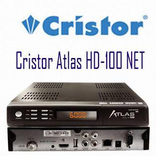 mise a jour cristor atlas hd 100