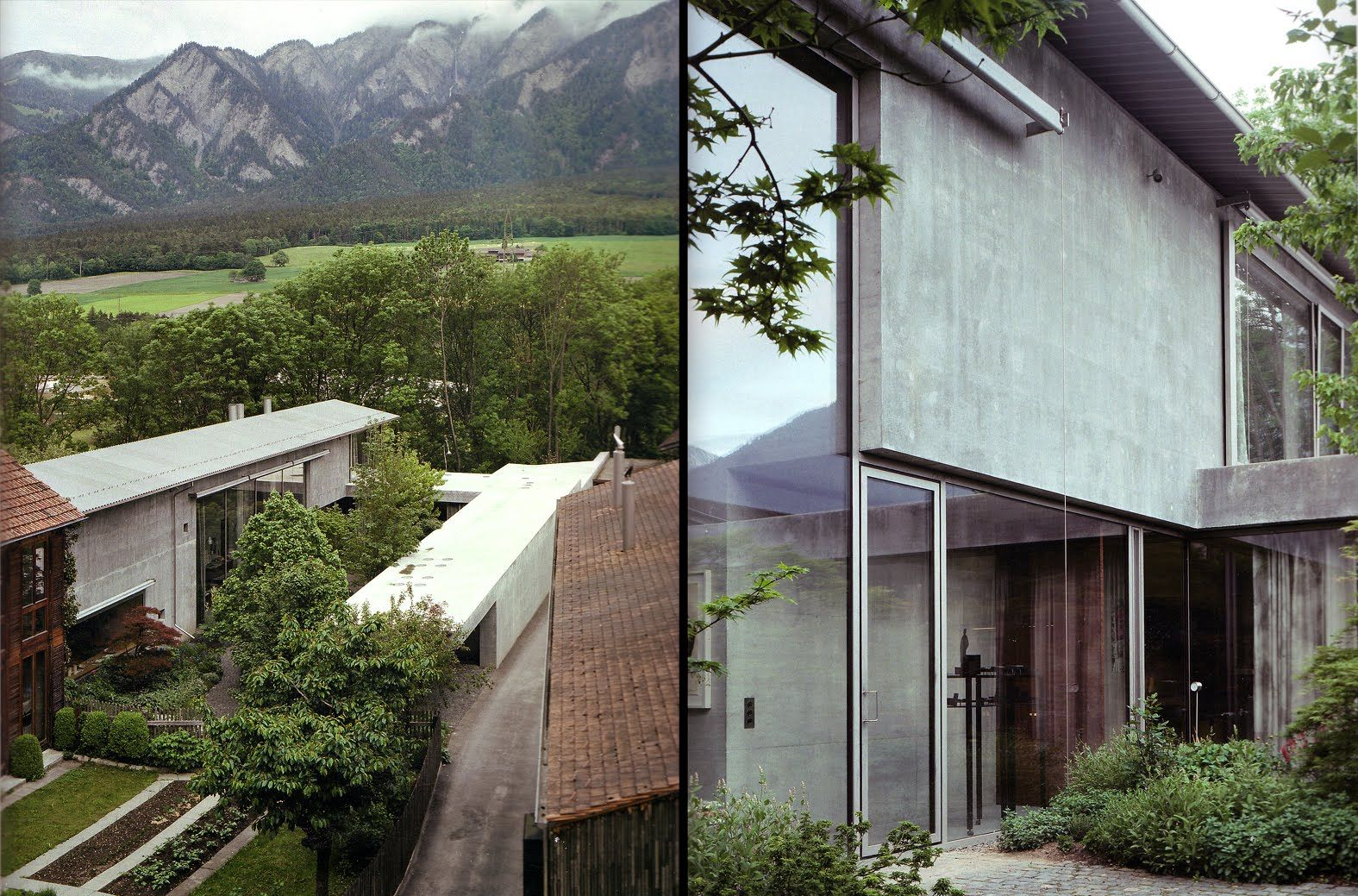 peter zumthor / architect's studio, haldenstein Peter