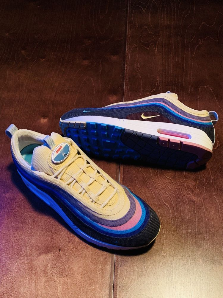 brand new d8f7b 16aa0 Nike Air Max 1 97 VF SW SEAN WOTHERSPOON Mens Size 9