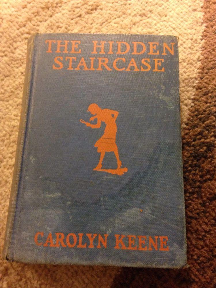 The Hidden Staircase Nancy Drew #2 Antique Book Carolyn Keene Early Print  1930