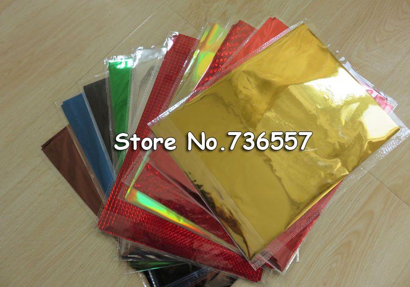 50 Pcs 20x29cm A4 Hot Stamping Foil Paper Laminator Laminating Transfere Laser Printer Business Card Gold Silver Gre Hot Foil Stamping Foil Stamping Foil Paper