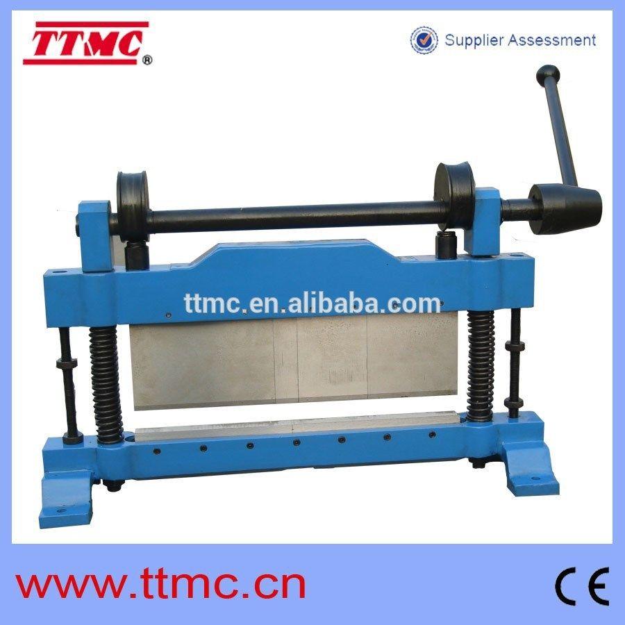 Sheet Bending Machine : Wb small hand press brake ttmc brand bending machine