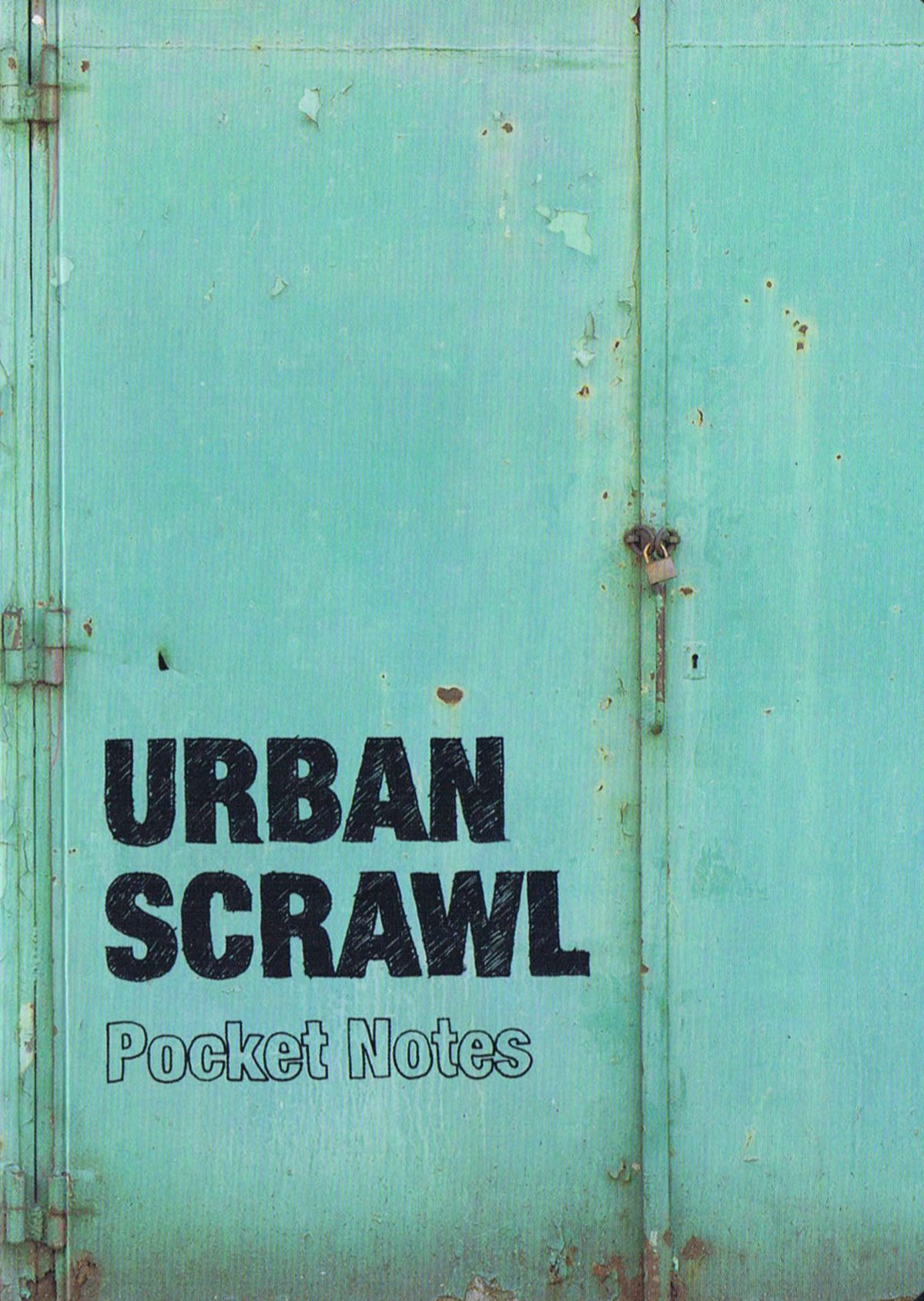 Urban Scrawl Notebook Pocket Edition Bog Fra Viking Og Creas Noter Tegn