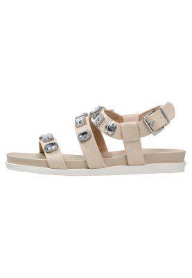 FRIO - Sandaalit nilkkaremmillä - taupe/beige