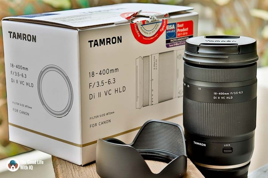 Tamron 18 400 Review 18 400 Mm F 3 5 6 3 Zoom Lens The Good Life With Iq Veg Adventures Tamron Zoom Lens Lens