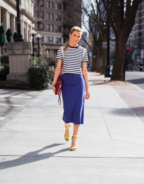 Atlanta Based Er Designer Dixie Ples Cute Spring Work Outfit Idea