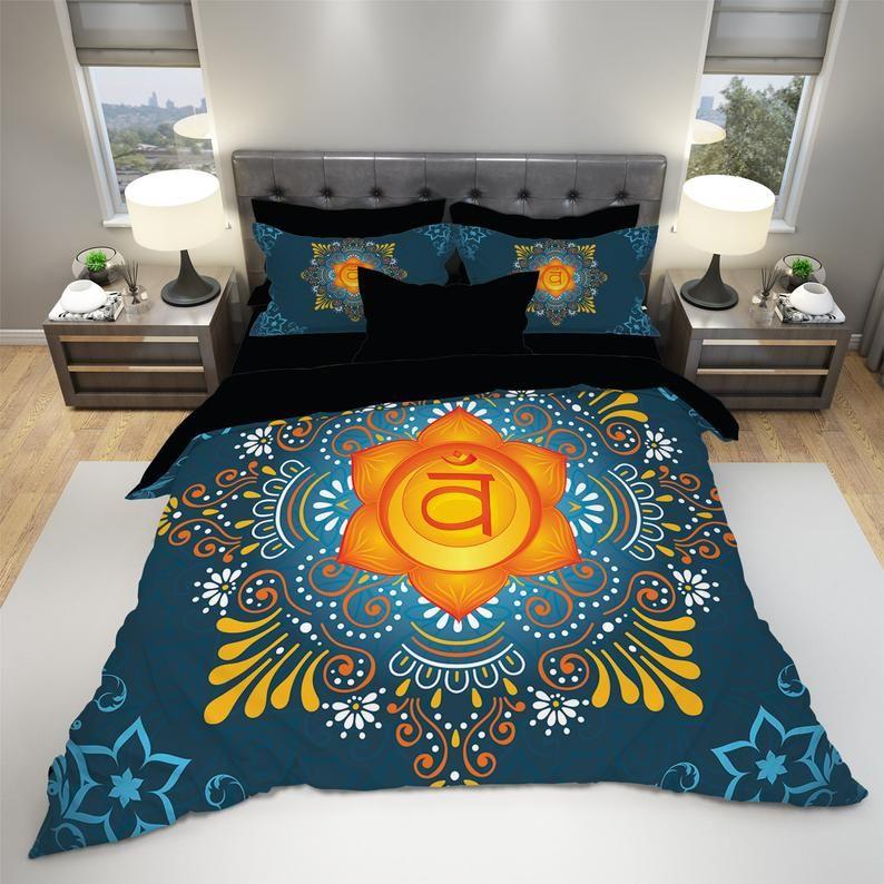 Mandala Boho Bedding Mandala Duvet Cover Set Bohemian Etsy Bedding Sets Mandala Duvet Cover Duvet Cover Sets