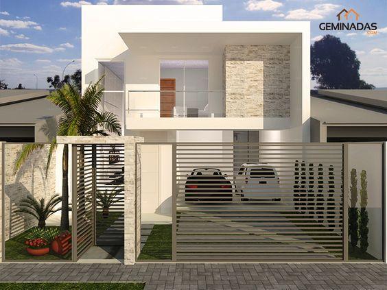 Fachadas Y Disenos De Casas 2017 Fachadasmodernasunpiso En 2020 Disenos De Casas Casas Modernas Casas