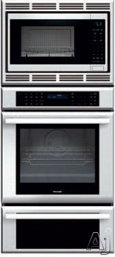 Thermador Medmcw71js 27 Inch Triple Combination Wall Oven With 4 2 Cu Ft True Convection 1 5 Microwave 3