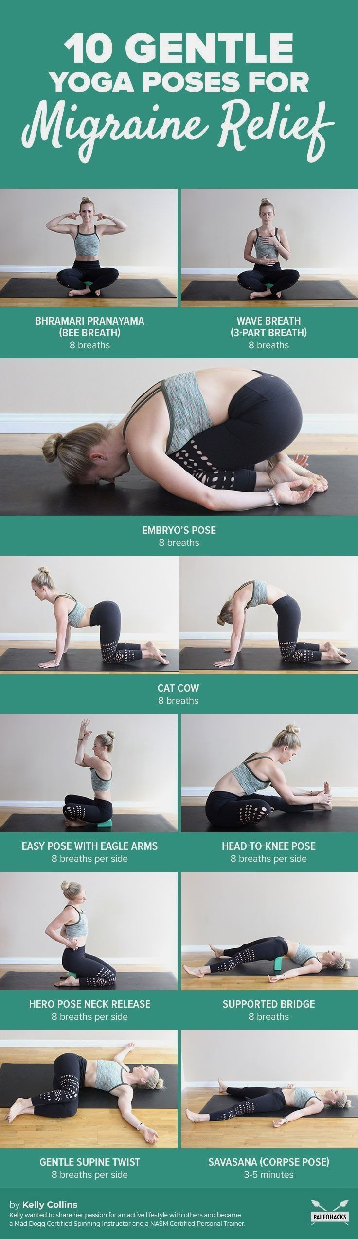 Yoga Sequencing Book Gentle Yoga Migraine Relief Yoga For Migraines