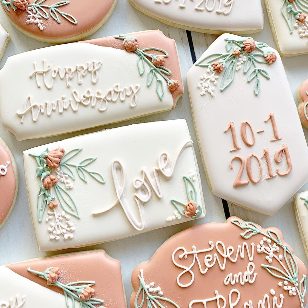 """DEMI COOKIE CO (@demicookieco) posted on Instagram: """"LOVE- something so strong that not even 2020 can cancel 🙌🏻💛 . So much love to you guys!! . . #demicookieco #decoratedsugarcookies…"""" • Oct 29, 2020 at 4:21pm UTC"""