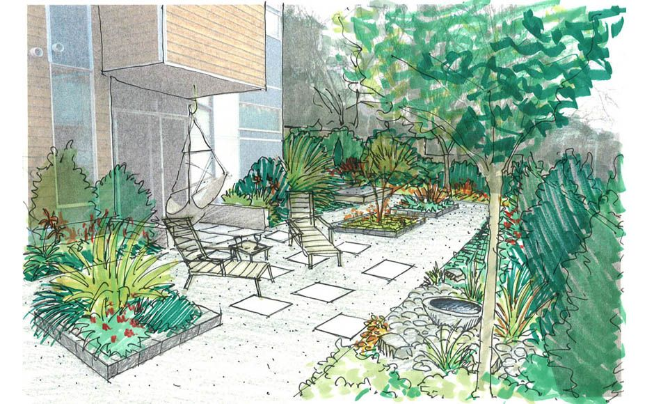 edible landscape design | Erin Lau Design | Seattle, Burien, Renton ...