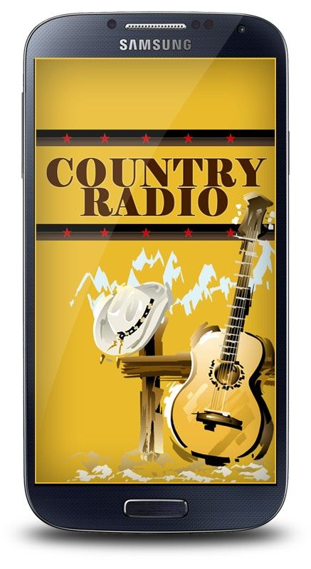 Country radio stations android app
