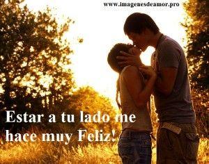 Parejas Enamoradas Con Frases De Amor Http Www Imagenesdeamor