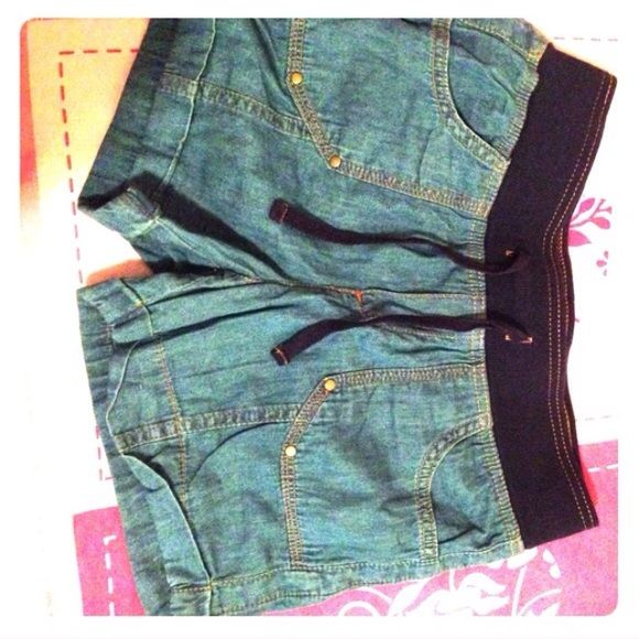 Brand new Demin Shorts ! W/O tags but they're new Shorts Jean Shorts
