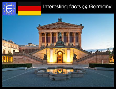 Interesting Facts About Germany Germany Visit Germany Fun Facts