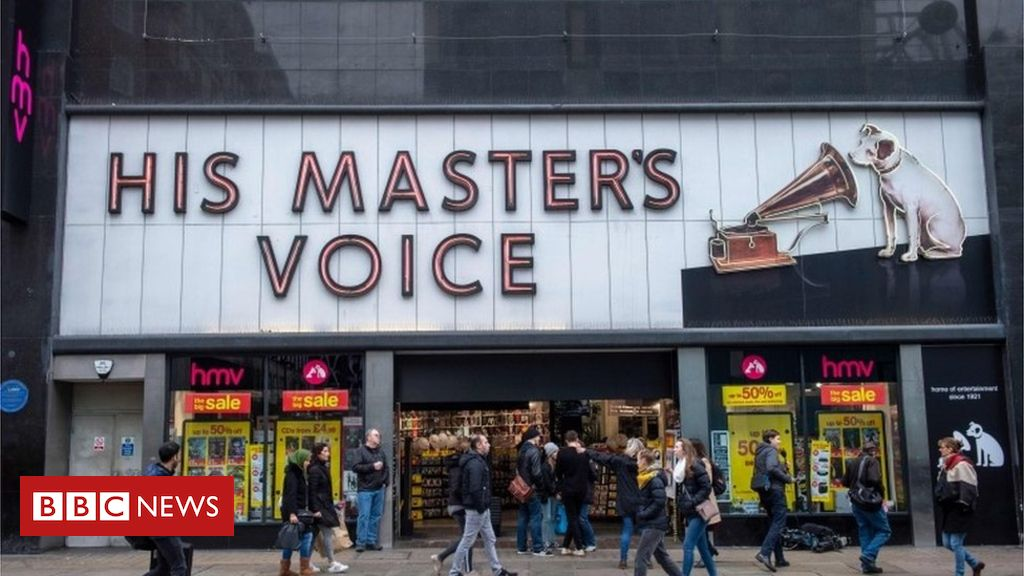 HMV 'to honour gift cards in administration' British