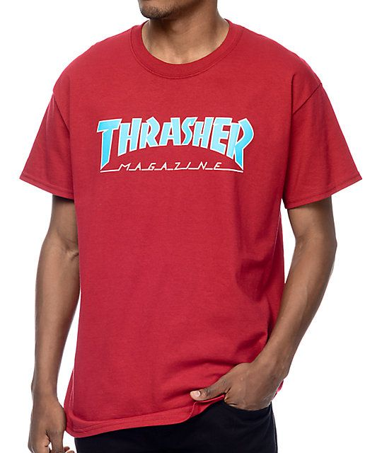 830f984bd Thrasher Magazine is the OG when it comes to bringing you all the latest  skate news, now you can be part of the legacy with the Logo t-shirt from  Thrasher ...