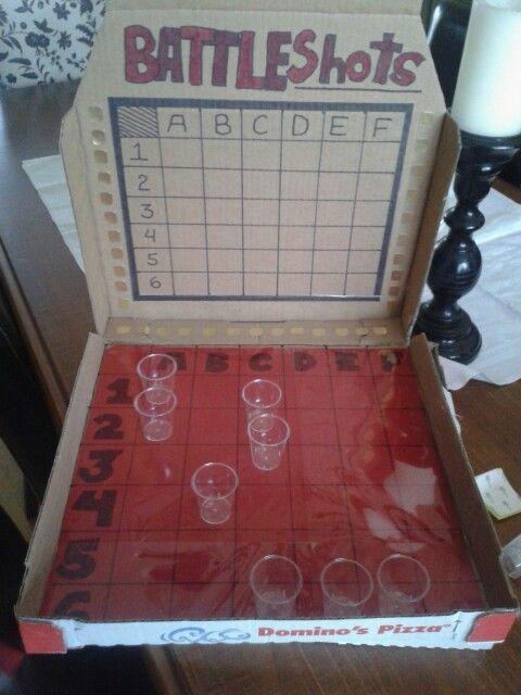 Battle shots drinking game!