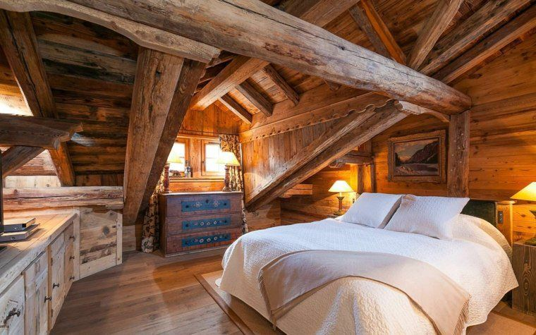 D coration int rieur chalet montagne 50 id es inspirantes chalet montagne deco de chambre - Interieur chalet montagne ...