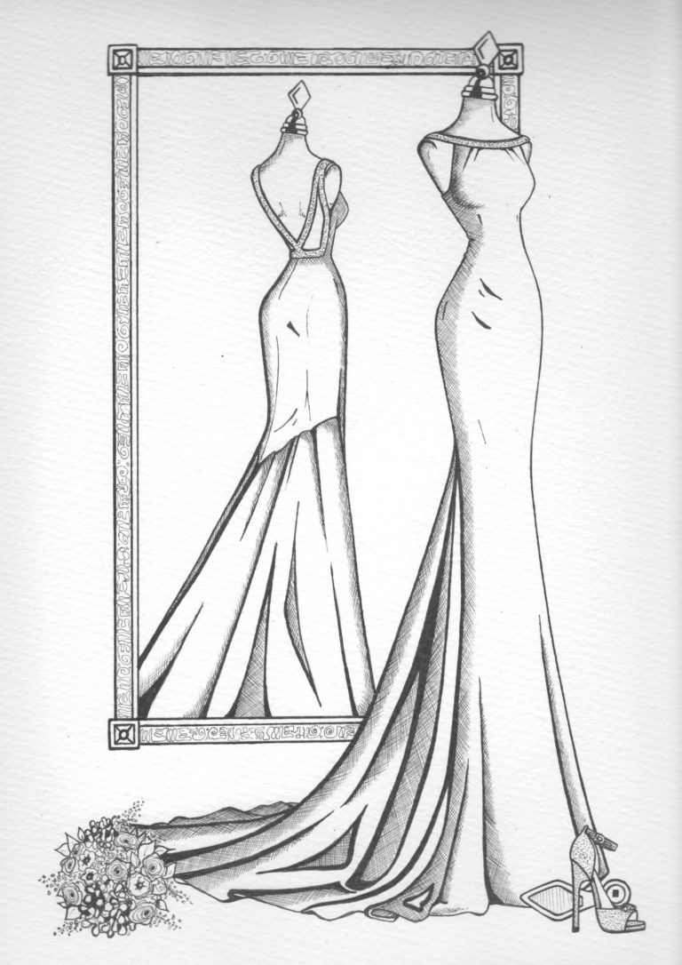 Photo of Mirror View Sketch