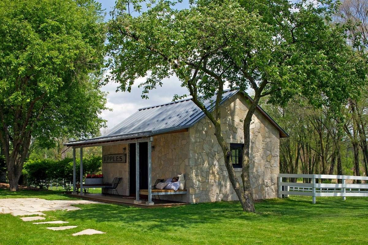 A Small Stone Cabin Northworks Stone Cabin Small House Bliss Stone House Plans