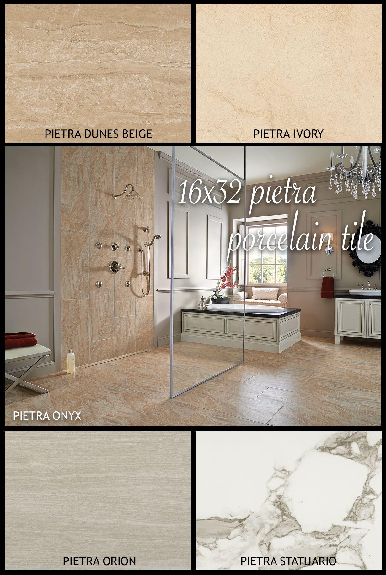 White Hot Trend Large Format Tiles In The Ever Popular Rectangular Format Offer Unique Beauty Fall In Love With Large Format Tile Porcelain Porcelain Tile