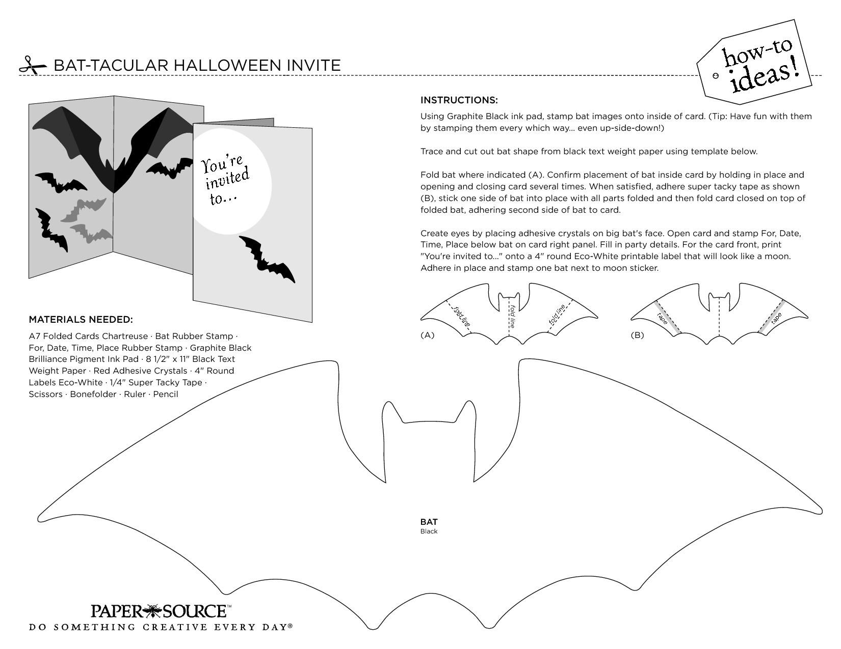3d Bat Template