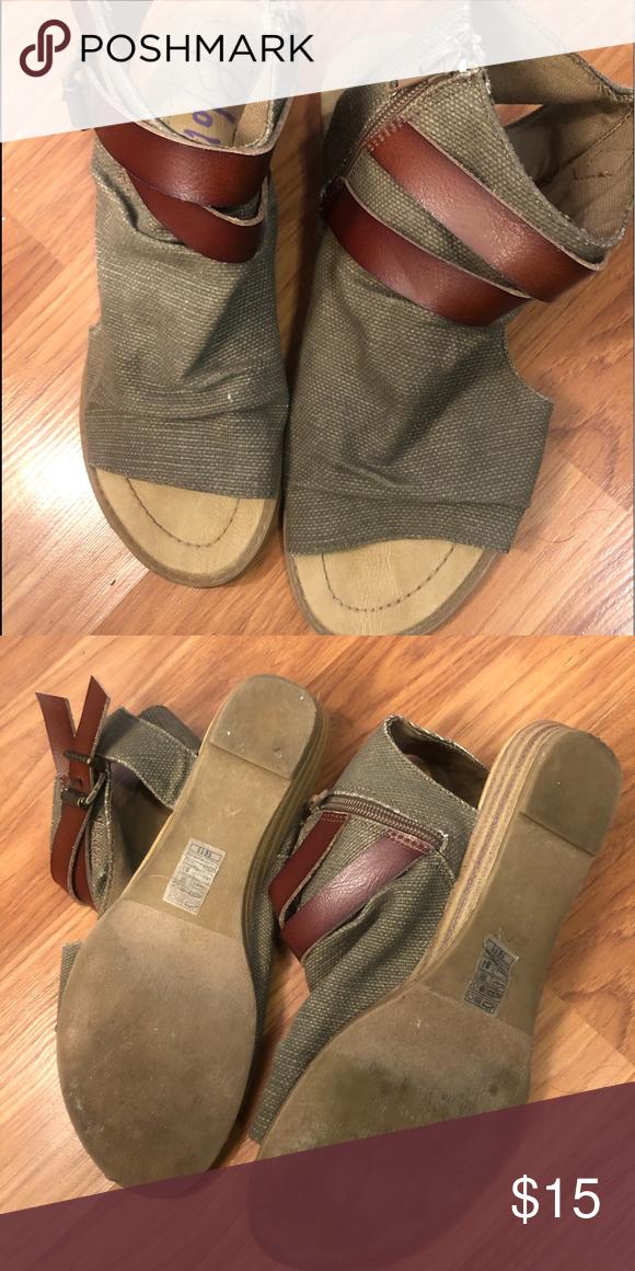 Blowfish Hippie sandals size 9 Blowfish hippie sandals in good preloved conditio... 3