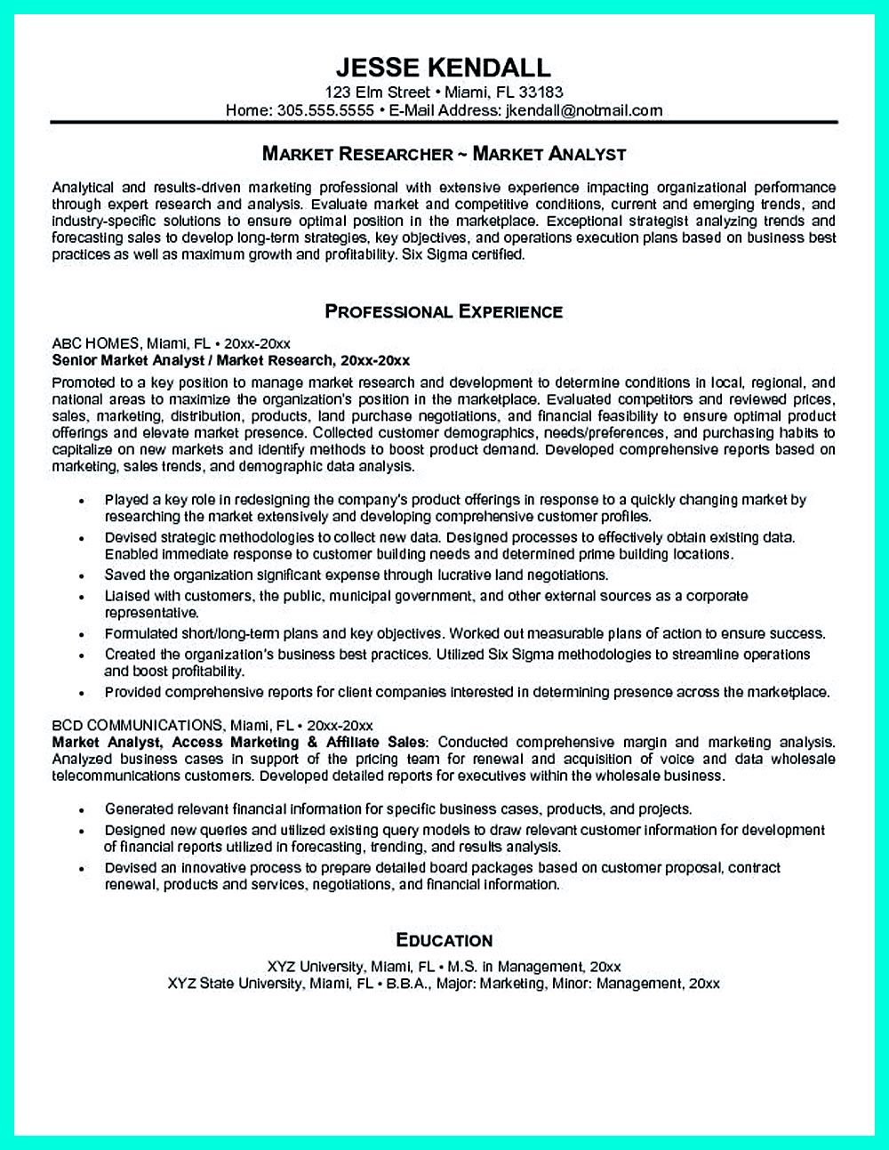 Entry Level Business Analyst Resume Data Analyst Resume Will Describe Your Professional Profile