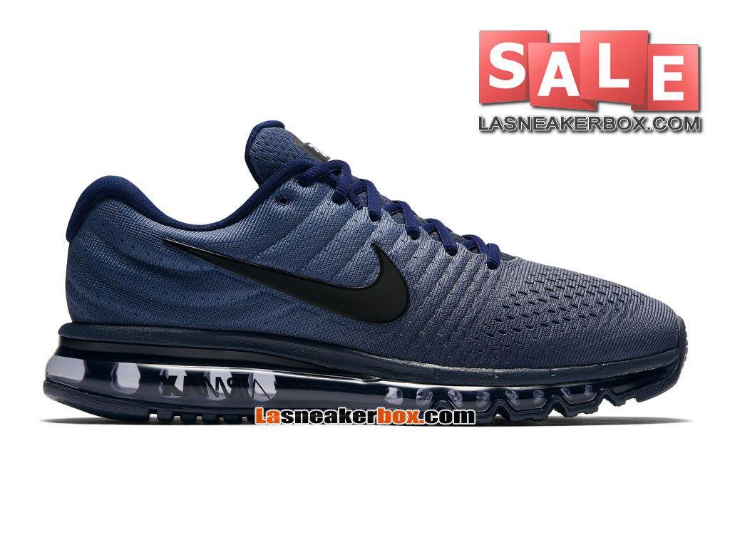 46fd00778081a nike-air-max-2017-chaussure-de-nike-running-pas-cher-pour-homme-bleu ...