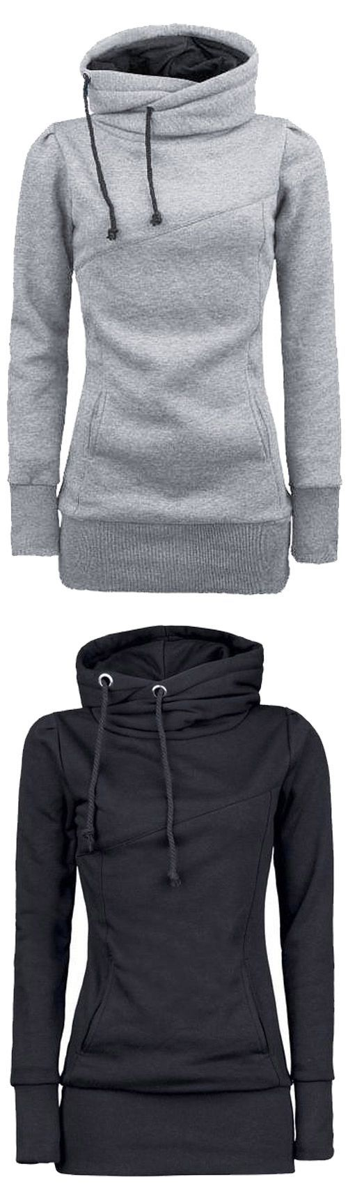Solo Act Hooded Long Sweatshirt | Delivery, 21st and Sweatshirt