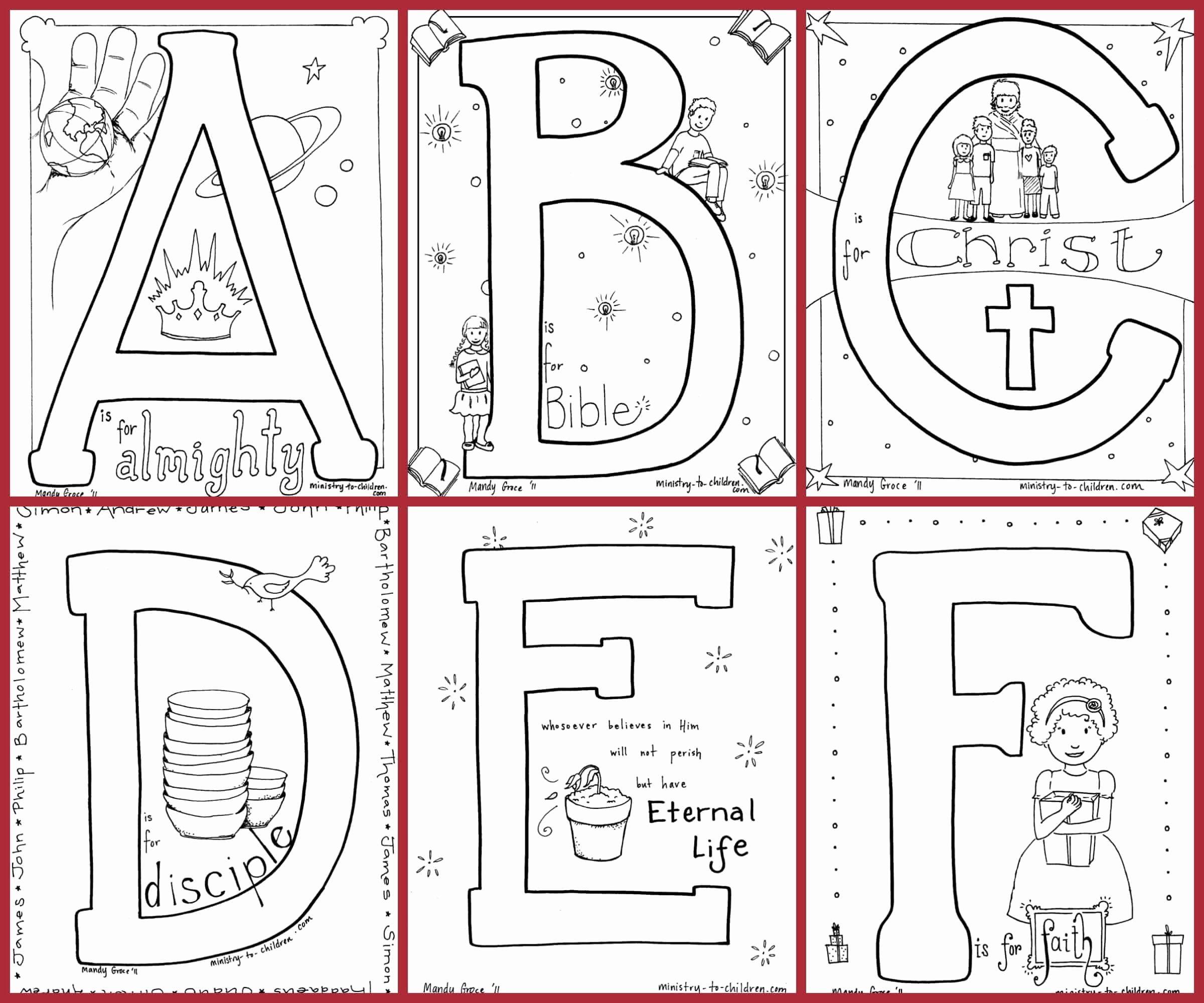 Coloring Book For Kids Pdf Unique Bible Alphabet Coloring Pages Free In 2020 Alphabet Coloring Pages Alphabet Coloring Coloring Pages Inspirational
