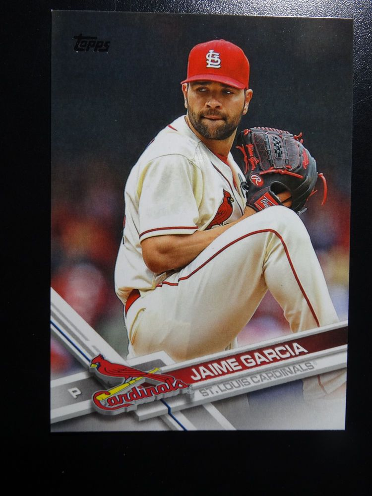 Details About 2017 Topps Series 1 176 Jaime Garcia St