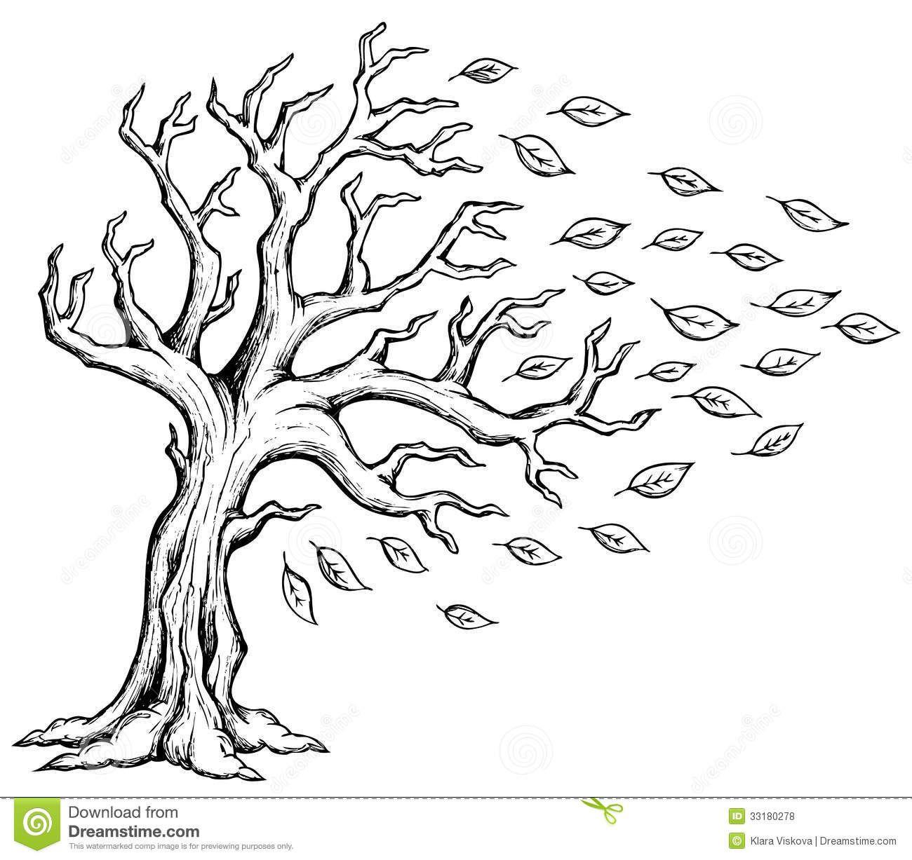 Tree Drawing Simple Tree Drawing Drawings