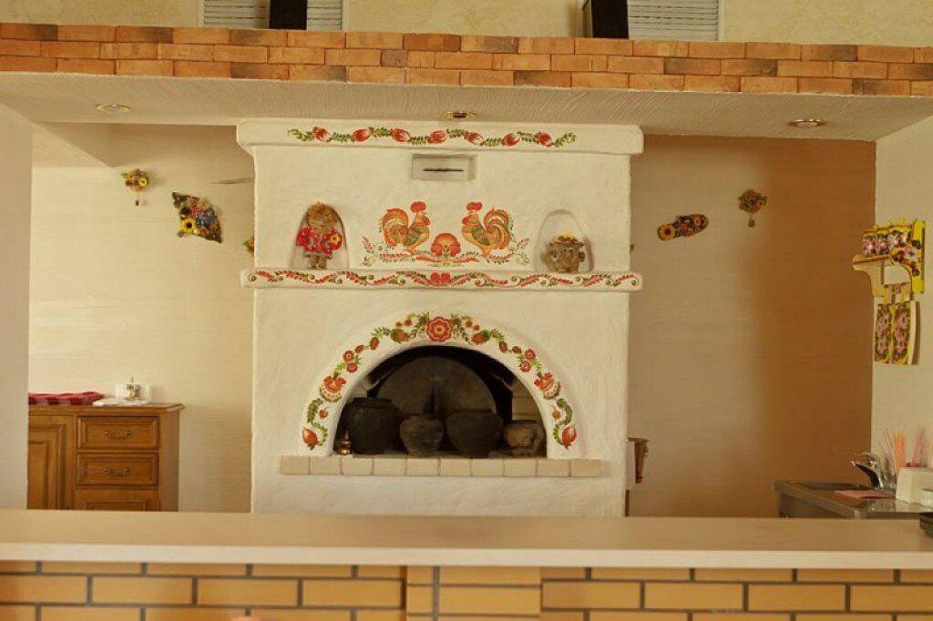 печи в деревенских домах фото