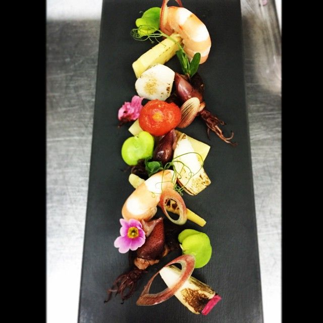 Japanese spring Bar snack!  #春#おつまみ#spring#top_food_of_instagram #foodphotography #foodart #garden ##armaniaqua #aquatokyo