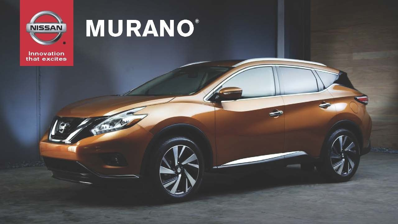 2015 nissan murano crossover premium interior in cashmere leather with advanced drive assist display on center console nissan murano pinterest nissan
