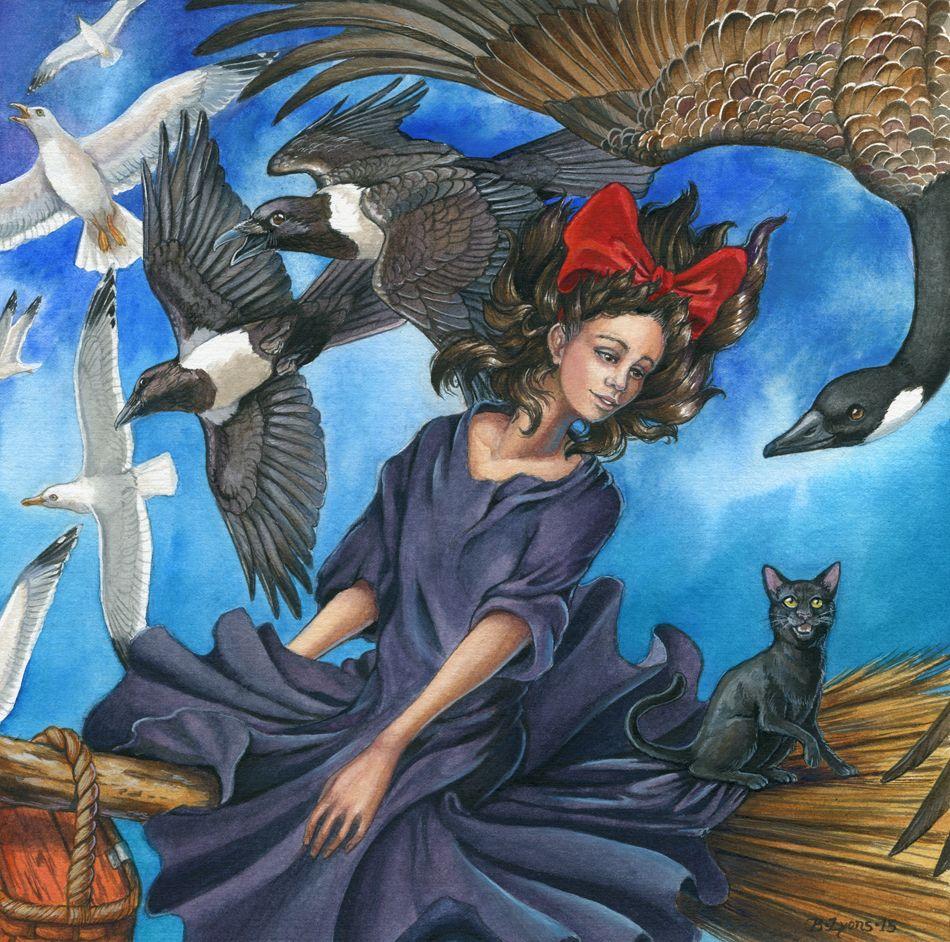 Old Friends et New par Brenda Lyons - Falcon Lune studio