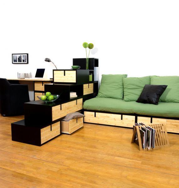 boites en bambou inspiration pinterest pi ce separateur de piece et espace. Black Bedroom Furniture Sets. Home Design Ideas