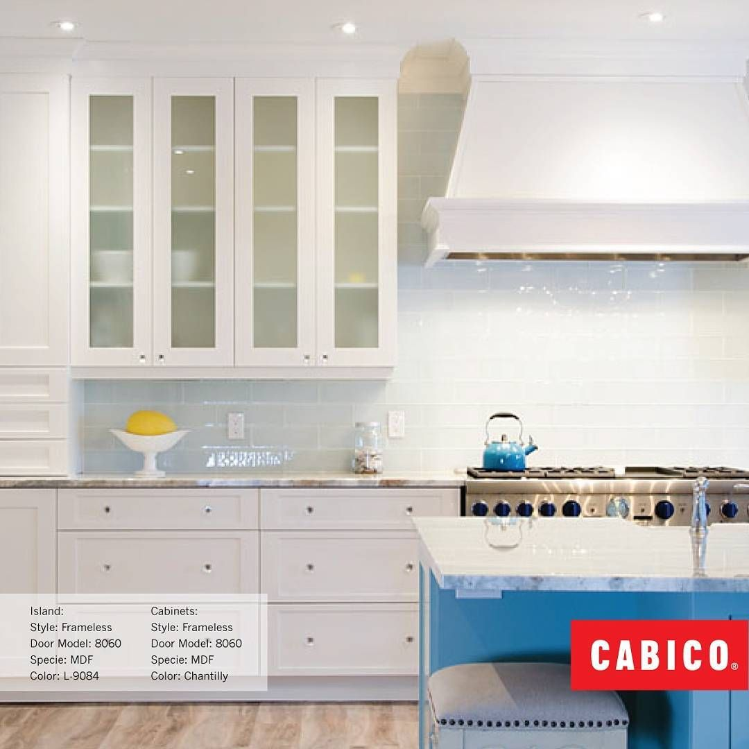 Simple white never fails. Cabico cabinetry in \