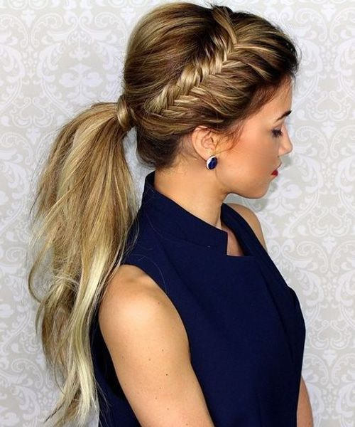 Fascinating Braided Ponytail Hairstyles For Prom Jprom Bois