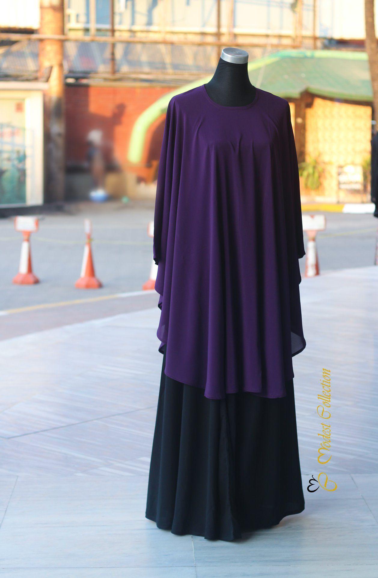 #drapekaftan #longskirt #purple #coverup #maternitywear #modestoutfit #caftan
