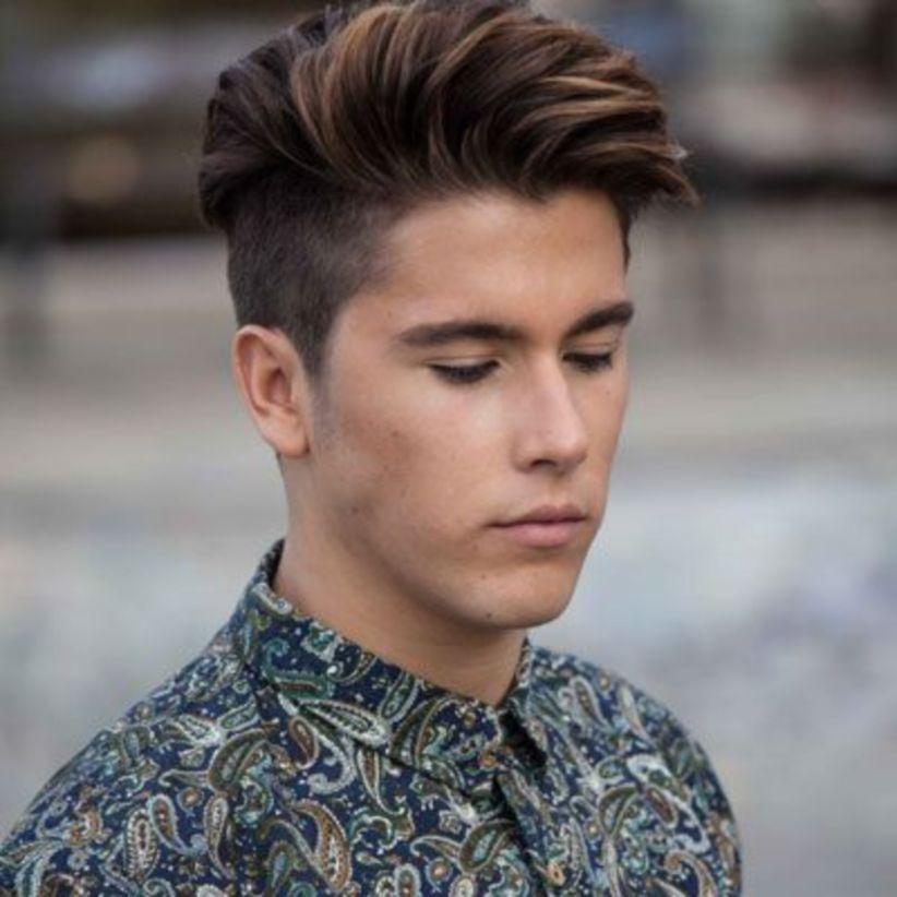 35 Brown Mens Hair With Best Haircut Ideas Menshaircutideas Men Hair Color Highlights Men Hair Color Brown Hair Men