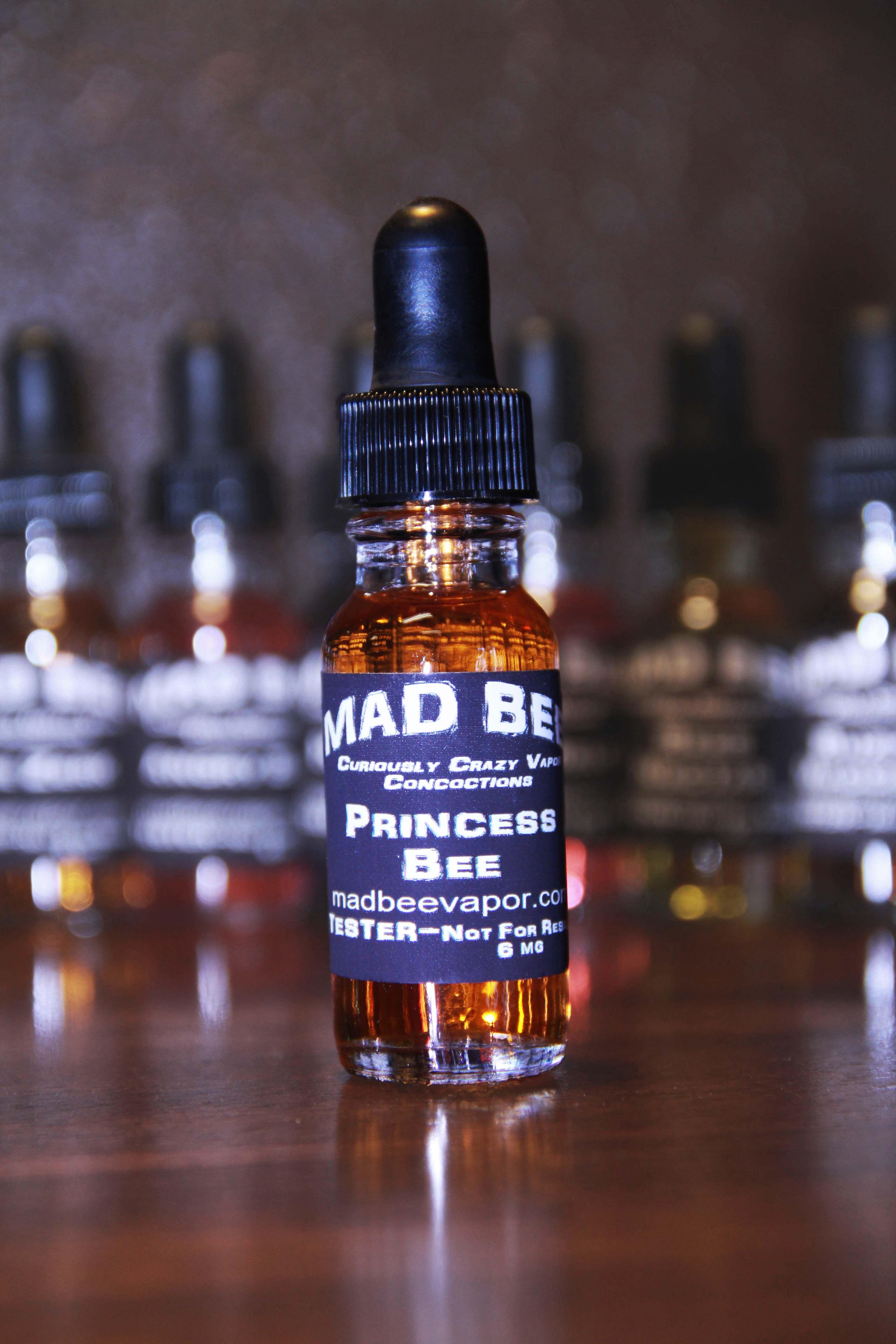 Mad Bee Vapor - Princess Bee, vape, vapor, vaporizer, vaping