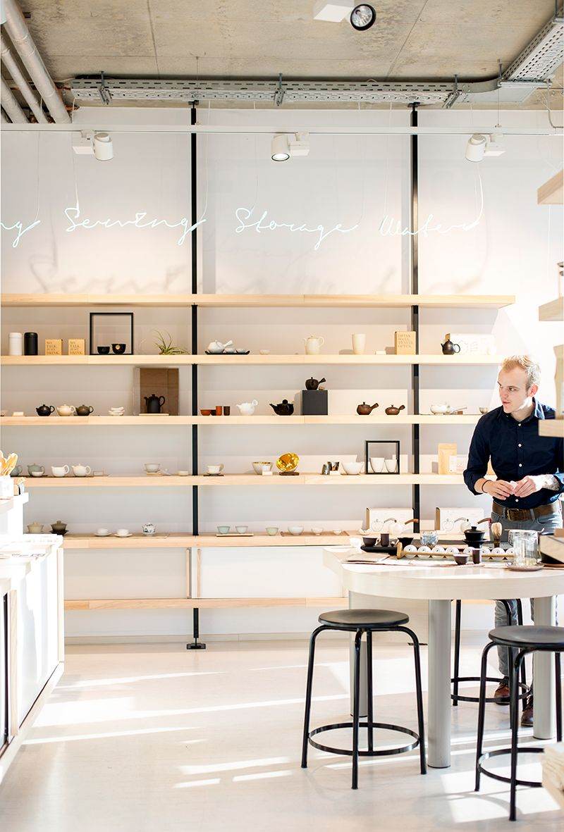 Paper And Tea In The Mitte Area Was So Charming Got Lost In There For A While And Blissed Out Berlin I Retail Shelving Shop Interiors Retail Store Design