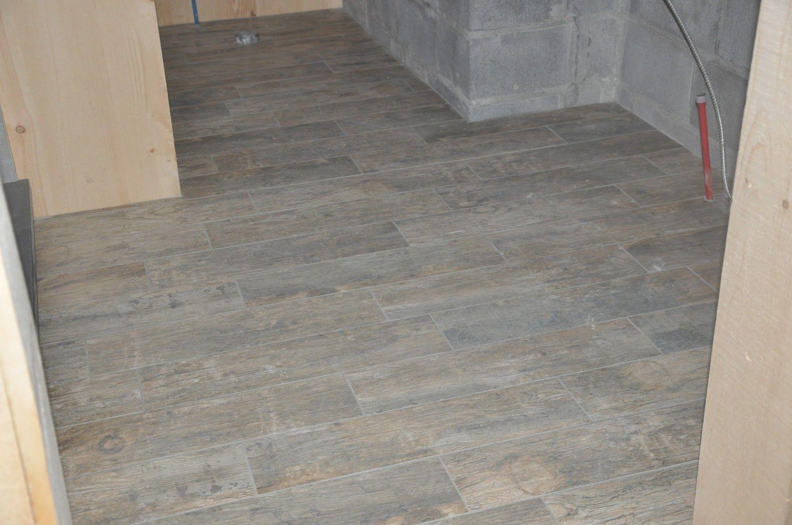 Bathroom Floor Tile Plank Modern Style How To Install A Plank Tile