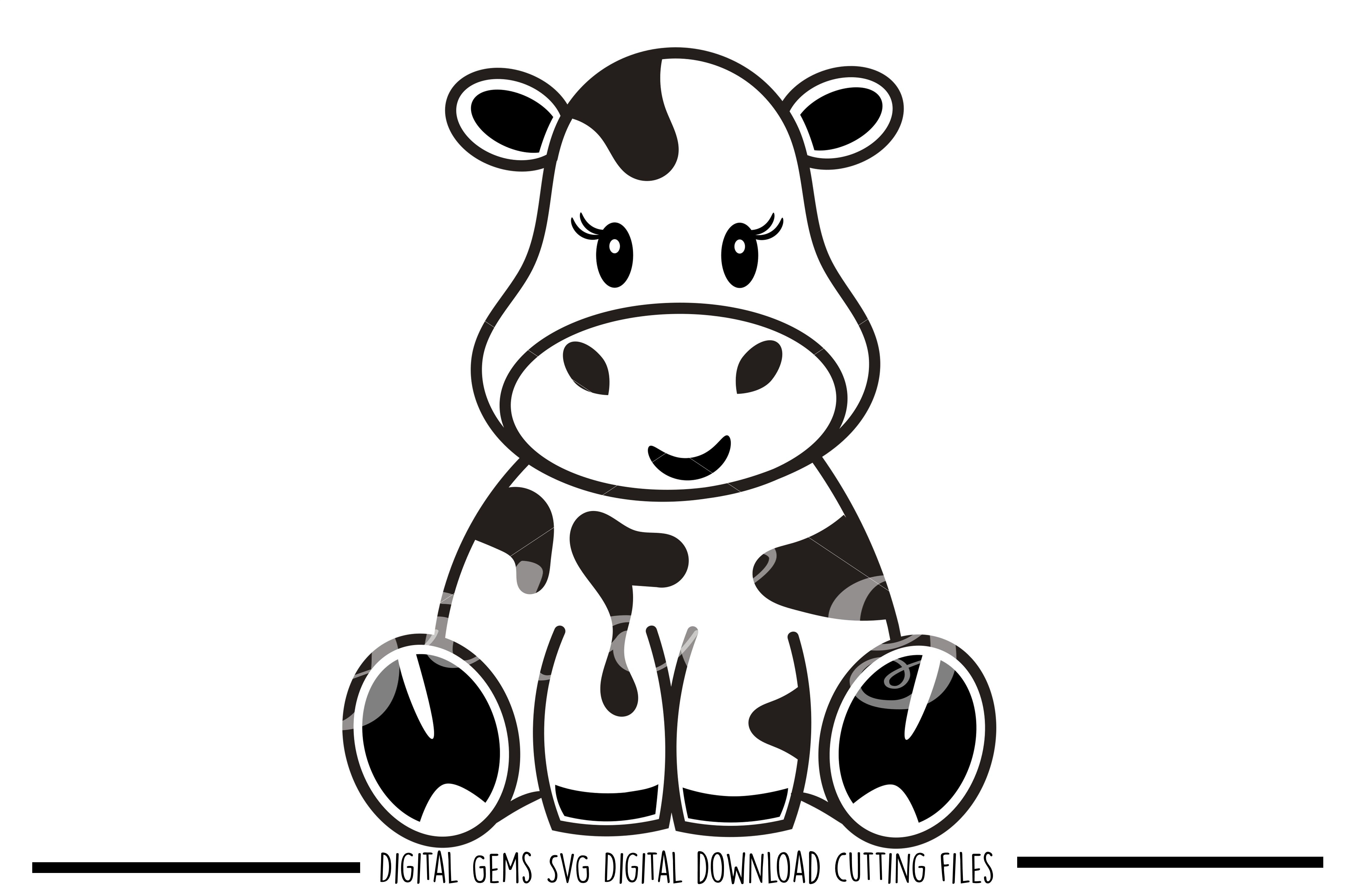 Download Cow SVG / DXF / EPS / PNG files | Cow, Cute cows, Baby svg